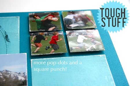 Square punch