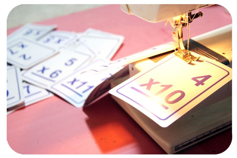 Flashcardsewing