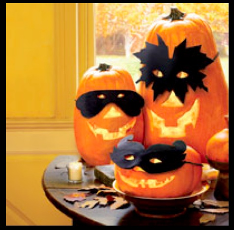Pumpkin masks