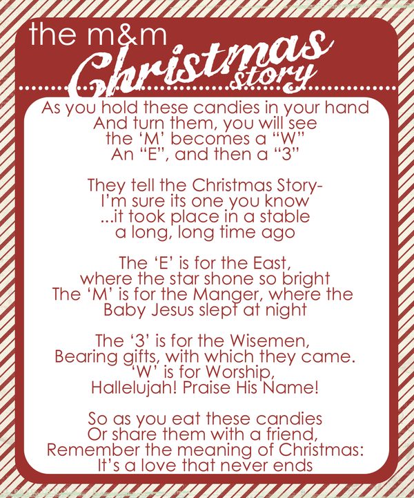 photograph about Printable Christmas Stories identify the MM Xmas Tale - even now me